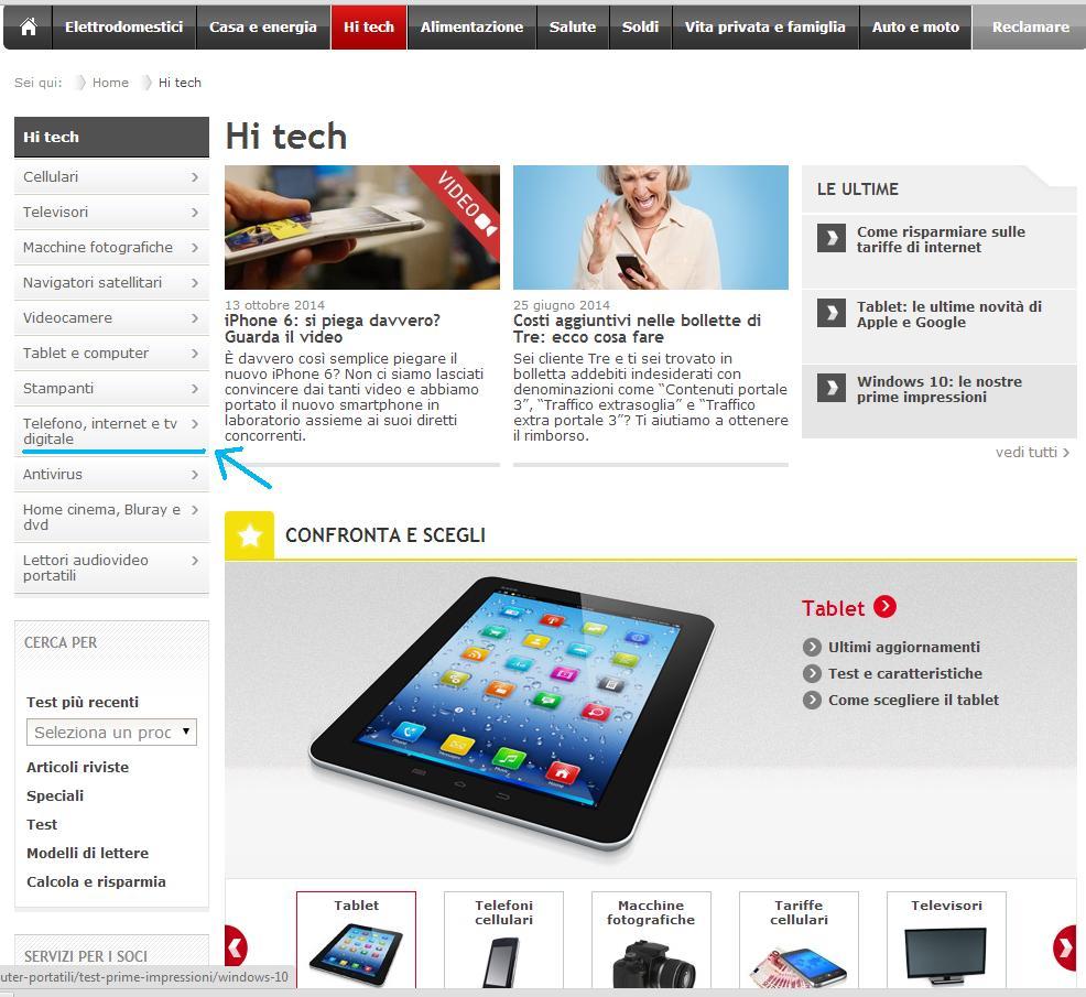 Scegliere La Connessione Internet Con Altroconsumo Offerte Shopping