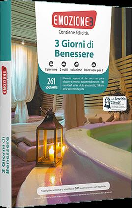Idee regalo cofanetto soggiorno con spa Emozione3 San Valentino ...