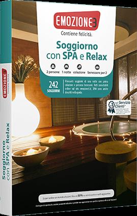Idee regalo cofanetto soggiorno con spa emozione3 san for Emozione3 soggiorno con spa e relax