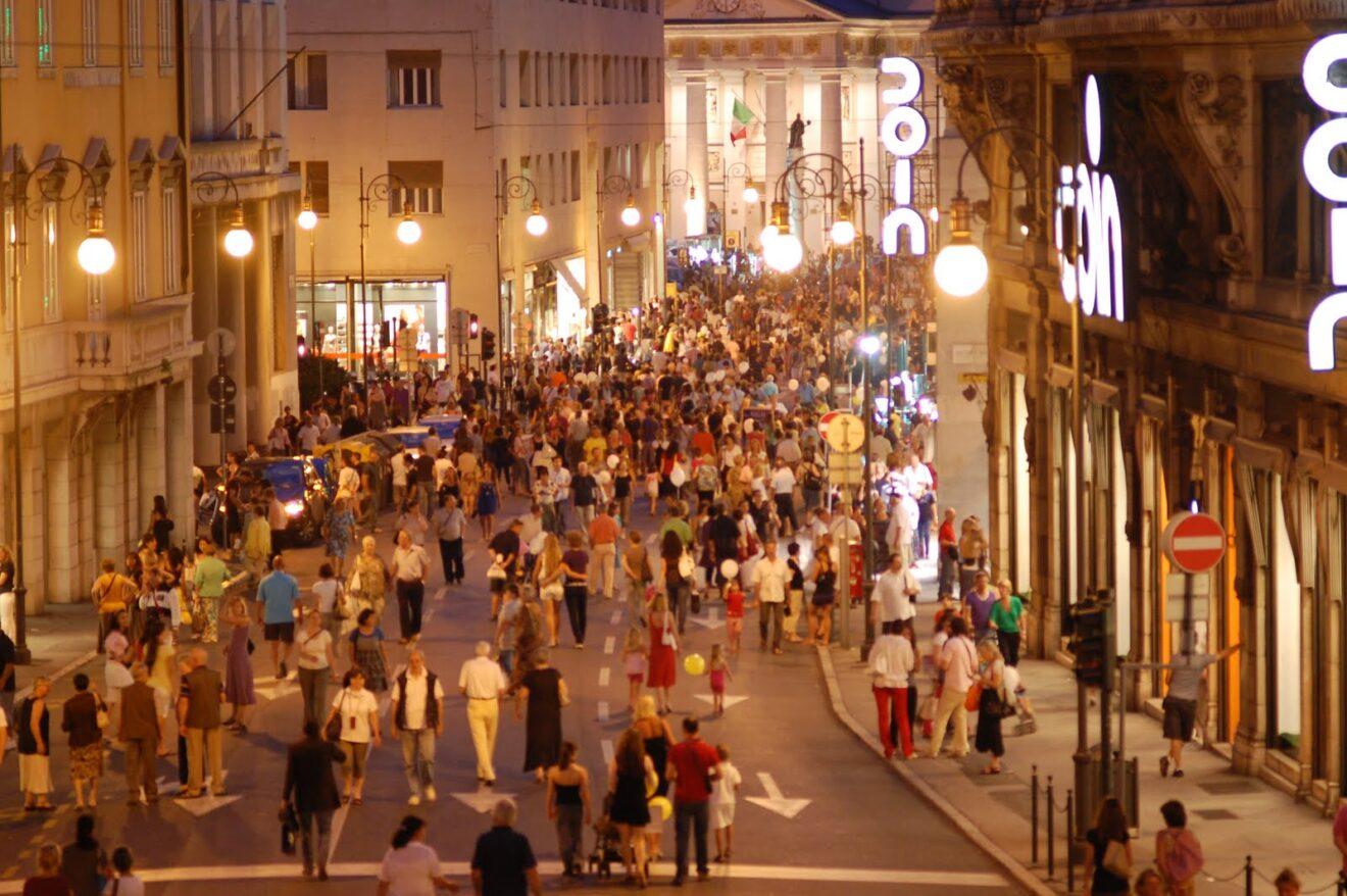 Quando finiscono i saldi a Trieste inverno 2015