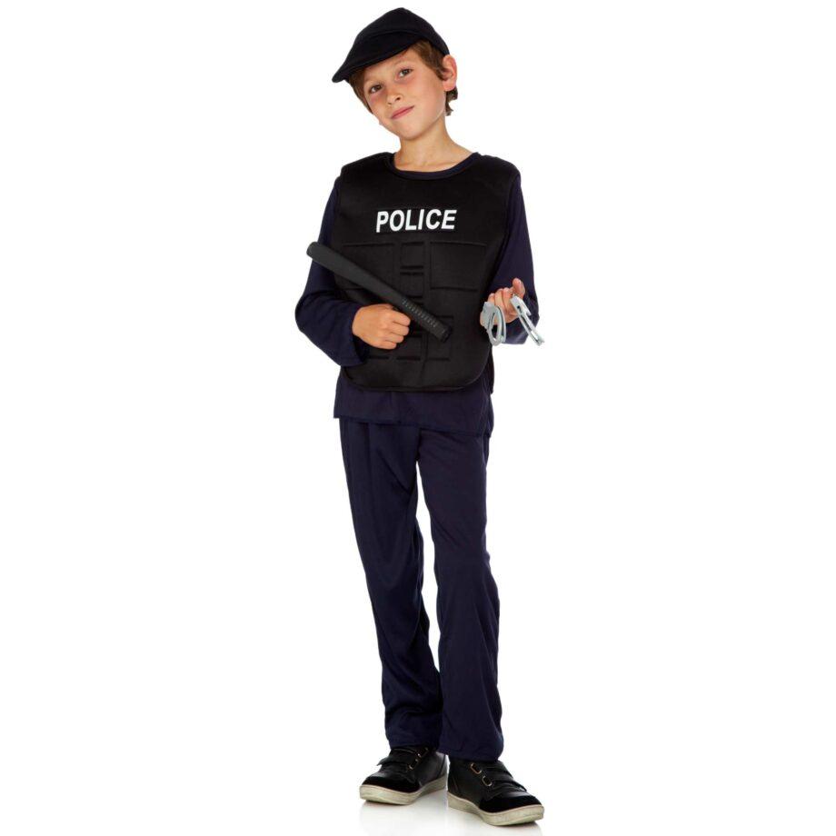 Costume poliziotto bambino kiabi carnevale