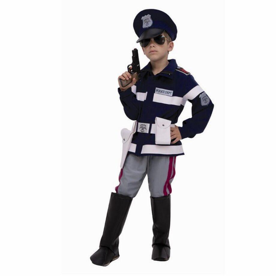 Costume poliziotto bambino Kiabi Carnevale 2015