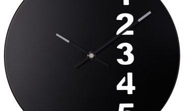 Orologio adesivo da parete Ikea: prezzi