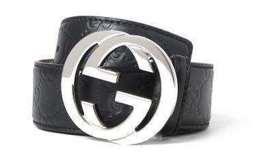 Cintura Gucci nera uomo: prezzi