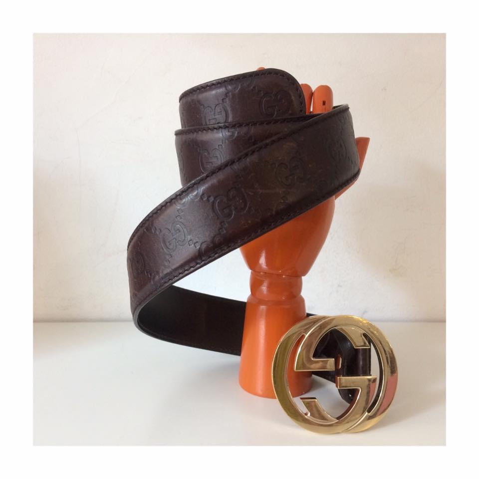 grande vendita molti stili goditi il miglior prezzo Cintura Gucci nera uomo: prezzi