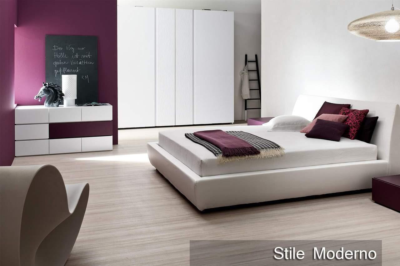 Arredare la camera da letto in stile moderno - Letto stile moderno ...